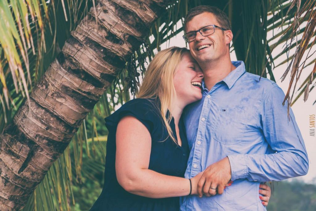 Fotos de Aniversario de Benoit y Chloé en Puerto Viejo (Costa Rica)