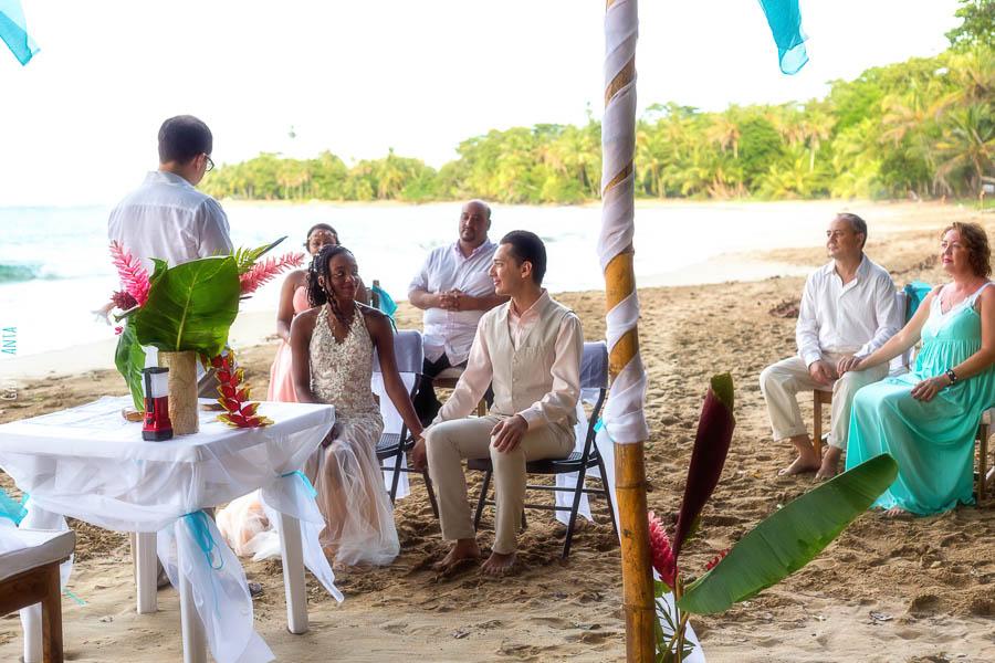Wedding Punta Uva (Puerto Viejo, Costa Rica)