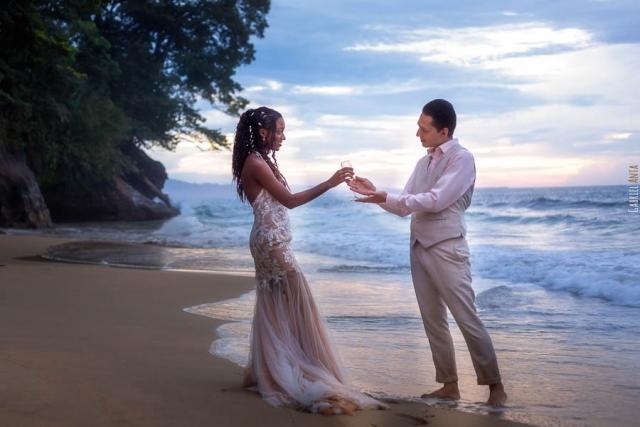 Wedding Punta Uva Beach (Puerto Viejo, Costa Rica)