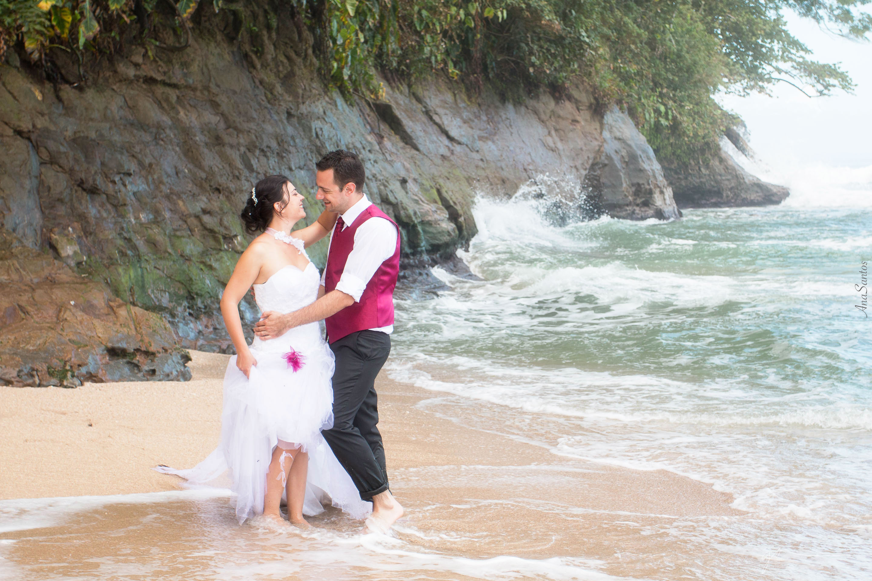 Boda en la playa de Punta Uva (Puerto Viejo de Limón, Costa Rica)