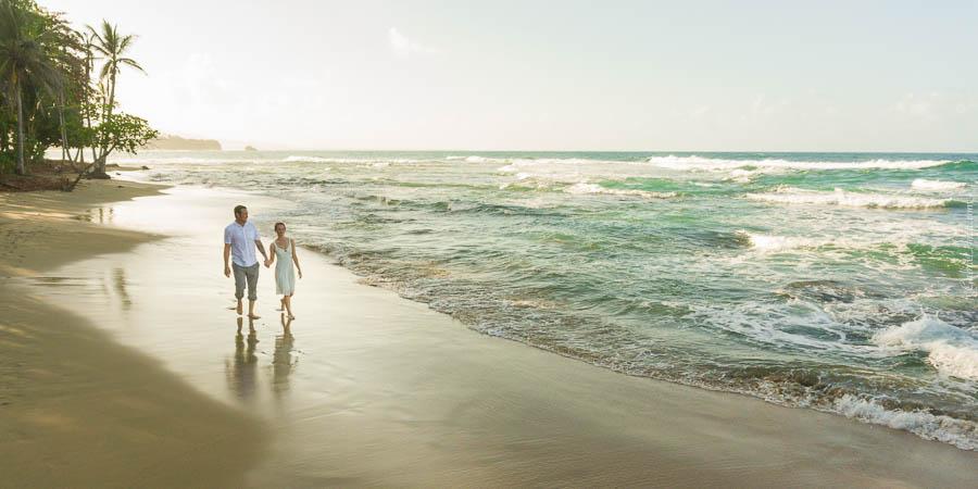 Boda en Puerto Viejo (Playa Punta Cocles, Costa Rica)