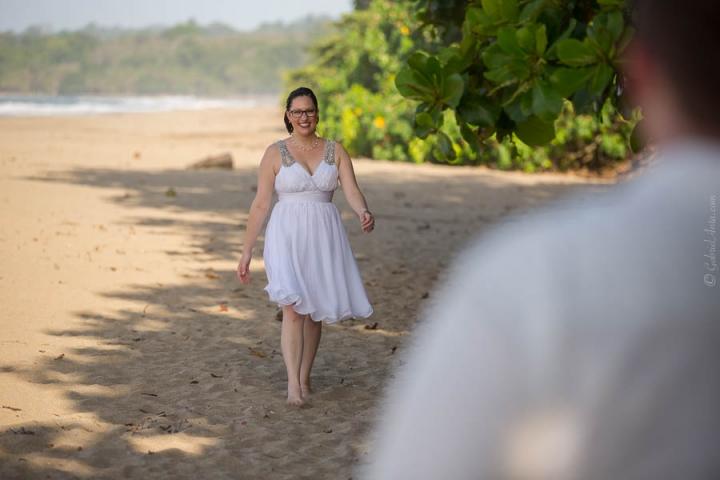 Boda en Playa Cocles (Puerto Viejo, Costa Rica)