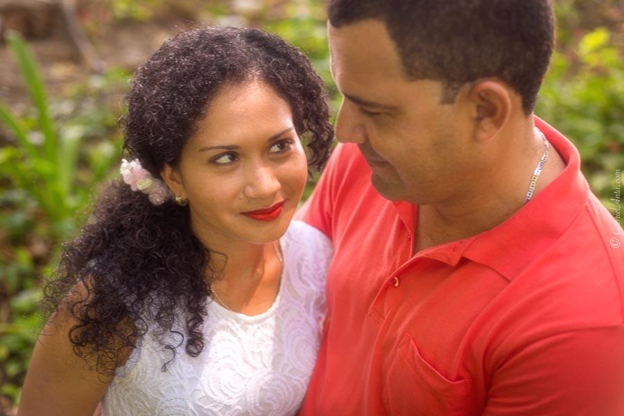 Aniversario de Bodas en la Playa de Cahuita, Costa Rica
