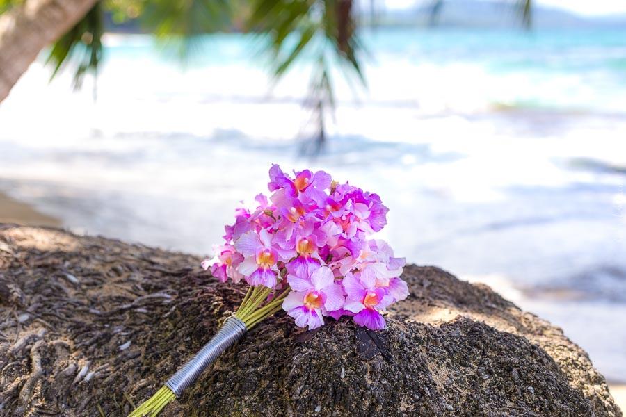 Ramos de Flores de Boda con Orquídeas Naturales