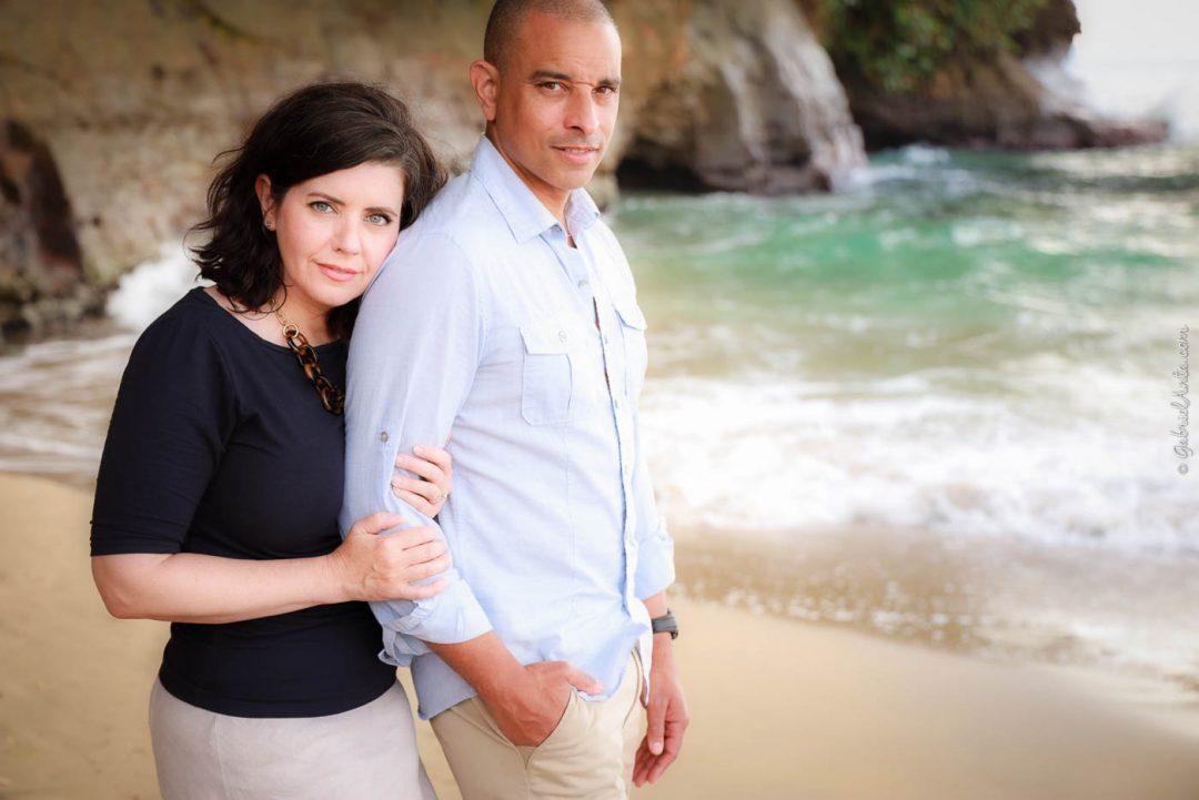 Fotos Familiares en la Playa en Puerto Viejo Costa Rica